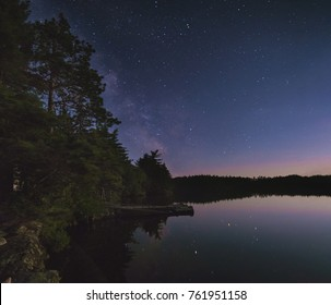 Star Gazing over the lake