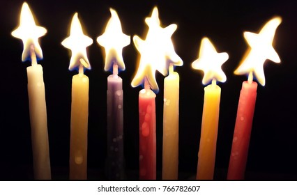 Star Light Candles
