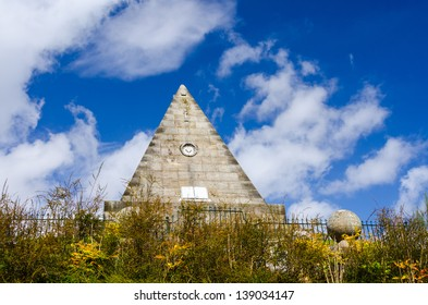 Star Pyramid near the Church of the Holy Rude at Stirling, Scotland
