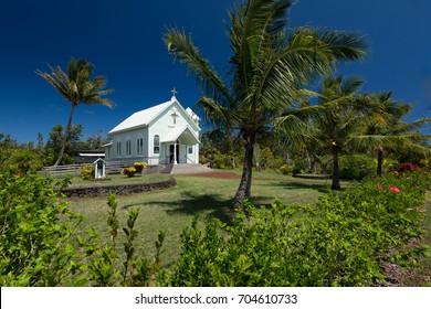 Star of the Sea Painted Church, Big Island, Hawaii