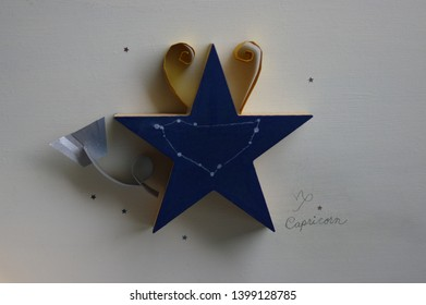 star shart of Capricorn on star-shaped object