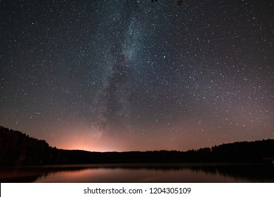 star sky with a milky way