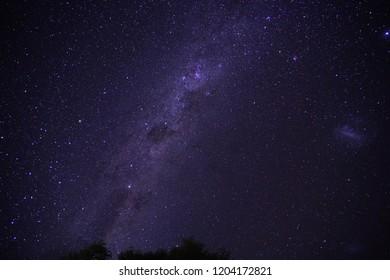star sky in queenstown