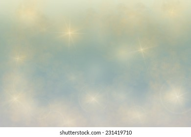star, smoke and sky background for compositions.