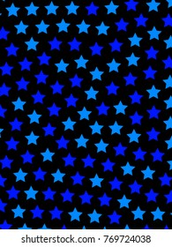 Star texture with many particles . high definition decoration
