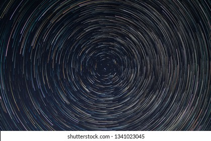 Star Trail long exposure