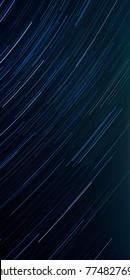 Star trails, the texture of the night sky, Celestial swirls, Wallpaper for phone