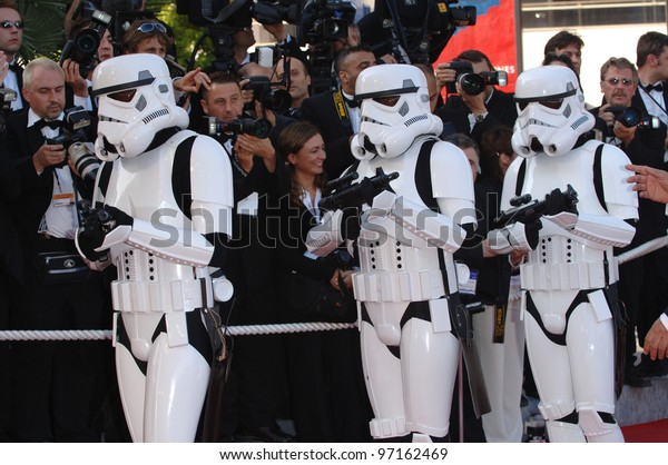 Star Wars Stormtroopers Gala Premiere Star Stock Photo Edit Now 97162469