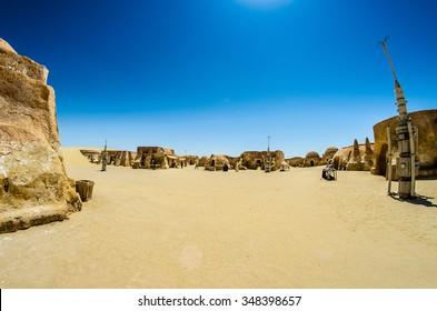 Star Wars Village in Tunisia