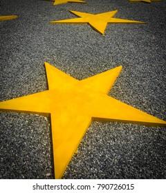 Star yellow dark