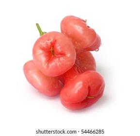 Star-apples on white background