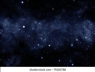 starfield milky way