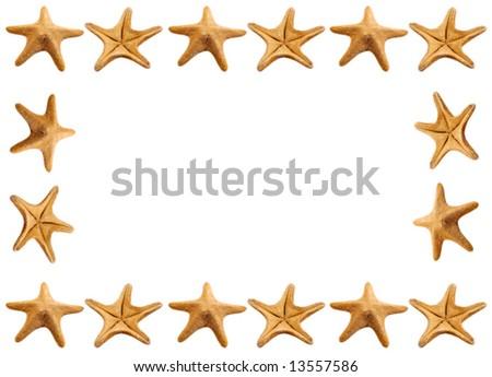Starfish Frame Stock Photo (Edit Now) 13557586 - Shutterstock
