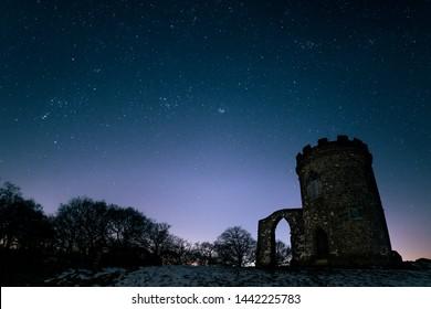 Stargazing at Bradgate Park, Leicestershire.
