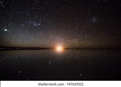 Stargazing at Salar de Uyuni