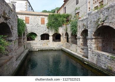 Stari Grad, island of Hvar, Croatia Tvrdalj Castle - Residence of the Renaissance poet Petar Hektorović, built 16th century