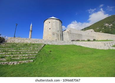 Stari Grad, the old Ottoman fortress in Travnik, Bosnia and Herzegovina.