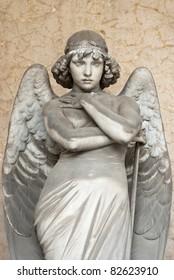 staring angel