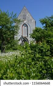 Starkow, Mecklenburg-Vorpommern/Germany - May 29, 2018: Church