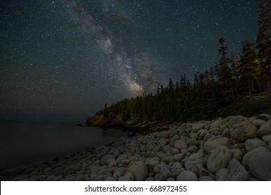 Starry Night in Acadia National Park