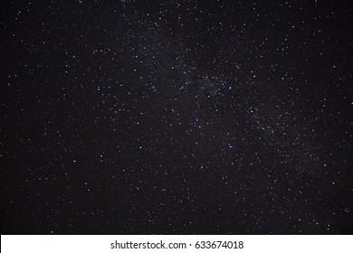 Starry night brown