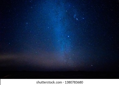 Starry night at Sahara Desert, Morocco - Shutterstock ID 1380783680