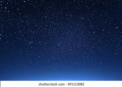 starry in the night sky ,abstract background