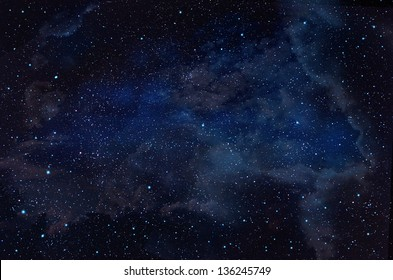 Blue Starry Sky Space Images Stock Photos Vectors
