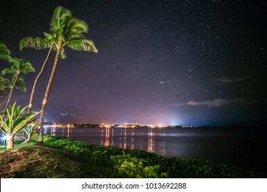 Starry Night Sky in Maui