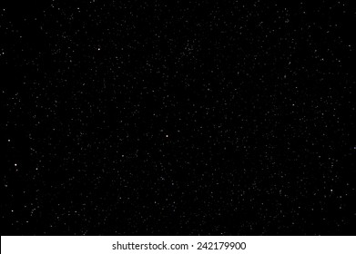 Starry Night Sky with a ot of Stars Background