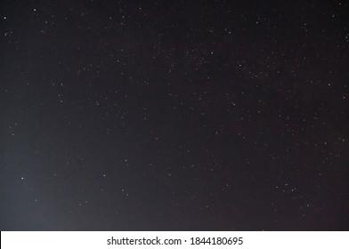 Starry Night Sky over Jasper National Park