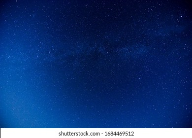 Starry Night Sky with a lot of Stars Background