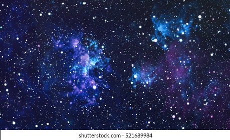 Starry outer space background texture