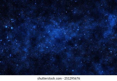 Starry Sky- Elements of this Image Furnished by NASA