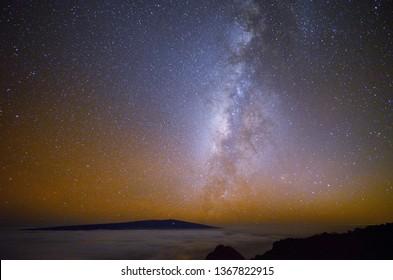 Starry  Sky in Hawaii