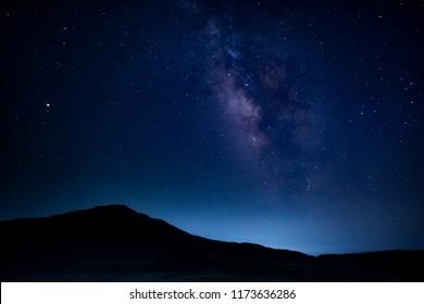 Starry sky in Kusasenri Aso Kumamoto Japan