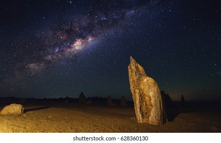 Starry sky at the Pinnacles