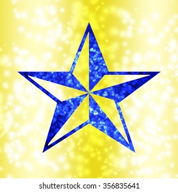 Stars abstract pattern background