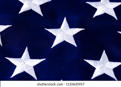Stars from the American flag