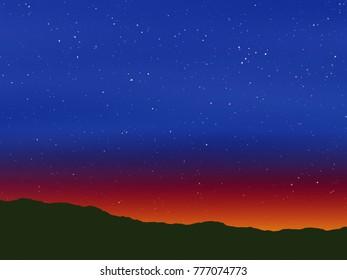 Stars at Dusk