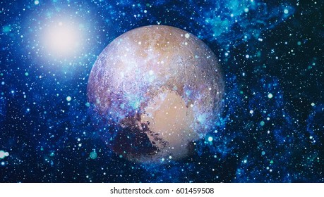 stars and galaxies in outer space showing the beauty of space exploration. Elements furnished by NASA
