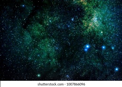 Stars and galaxy outer space sky night universe black background