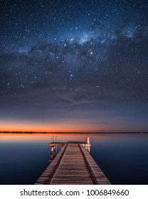 Stars at Lake Bonney, South Australia
