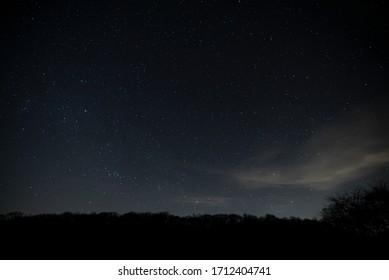 Stars At Night In Dark Sky