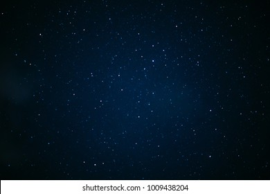 Stars in the night sky