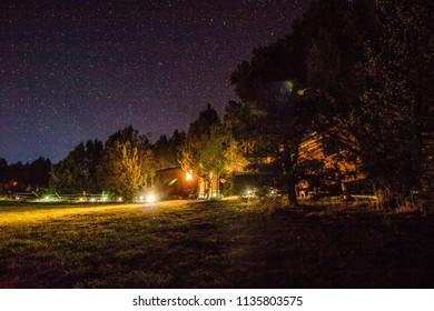 Stars Night Sky in Blanding Utah