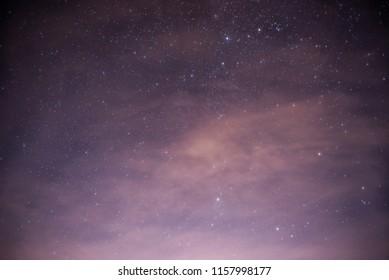 Stars at the nigth sky