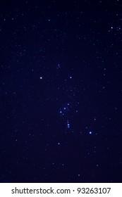 Stars on the sky at night