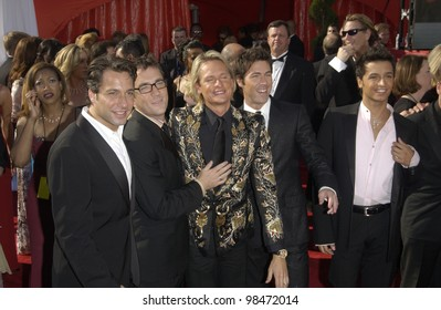 stars of Queer Eye for the Straight Guy at the 55t Annual Emmy Awards in Los Angeles. Sept 21, 2003  Paul Smith / Featureflash