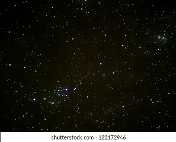stars in space, real photography